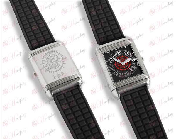 Dual-Flip buchstäblich Uhren (Black Butler-Zubehör)