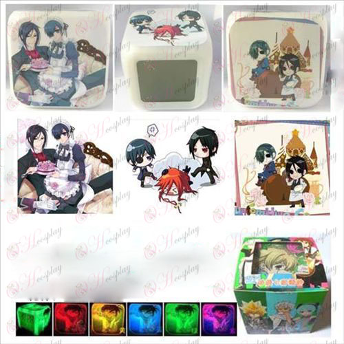 Black Butler Accessories3 cor da superfície despertador colorido