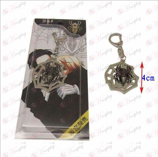 Black Butler Accessories cobwebs Keychain
