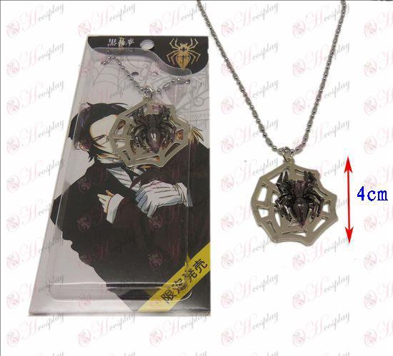 Black Butler Accessories spiderweb necklace