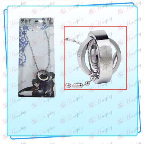 Black Butler Tillbehör Sun Dual ring halsband (kort)