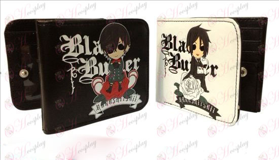 Black Butler Accessories fold wallet