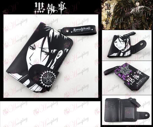 Black Butler Accessories in wallet