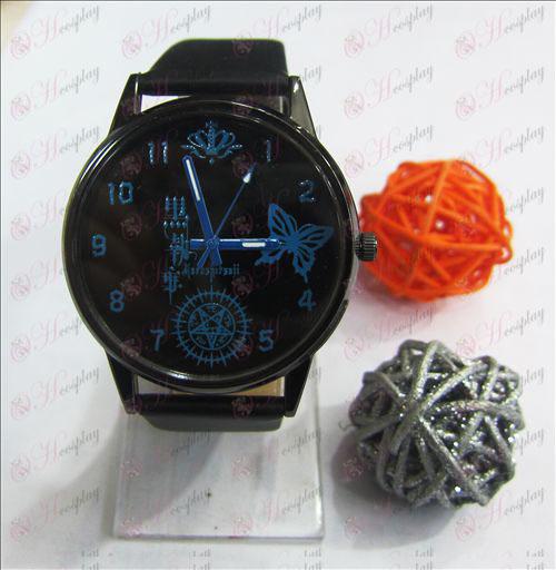 שחור באטלר אבזרים סוכריות צבעוניים סדרה שעונים
