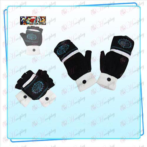 Black Butler Tillbehör dubbla handske (svart)
