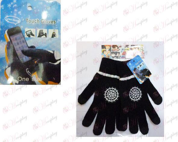 Touch Handskar Svart Butler Tillbehör logo