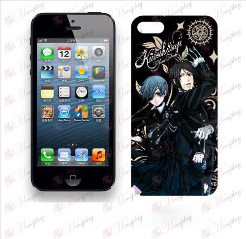 Apple iphone5 telefon shell 009 (Black Butler Tilbehør)