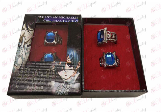 DBlack Butler Accessories couple rings