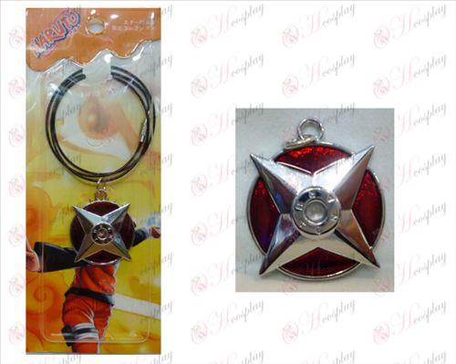 Angoli Naruto contrassegnati catena filo (rosso)