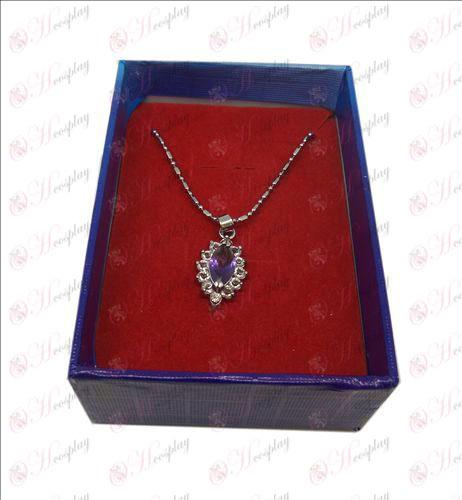 D коробку Black Butler аксессуары Ожерелье (фиолетовый)