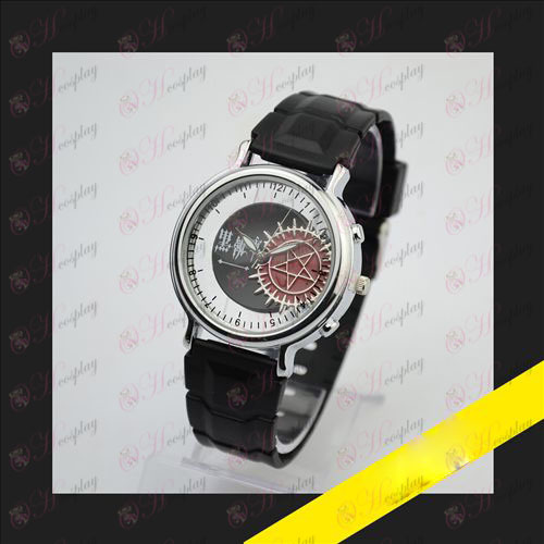 Relief skeleton watch-Black Butler Accessories