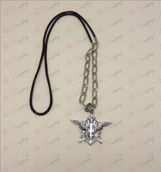 DBlack Butler Accessories Eaglehawk punk long necklace (silver)