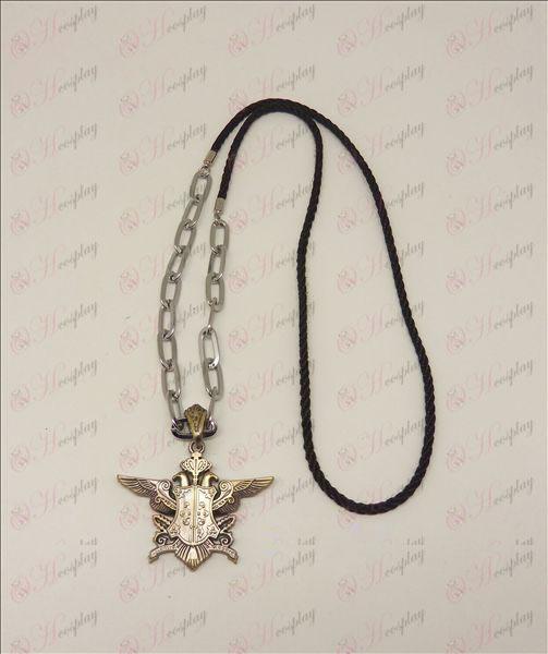 DBlack Butler Accessories Eaglehawk punk long necklace (bronze)