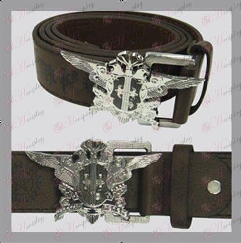 Black Butler Accessories-eagle flag belt