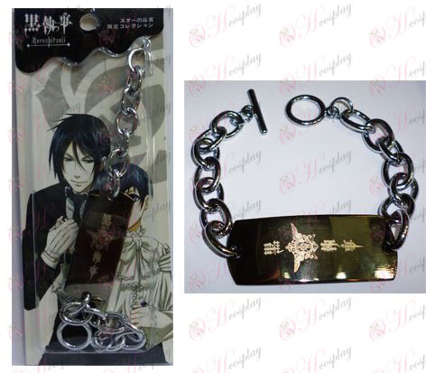 Black Butler Accessories Eagle Big O word chain bracelet