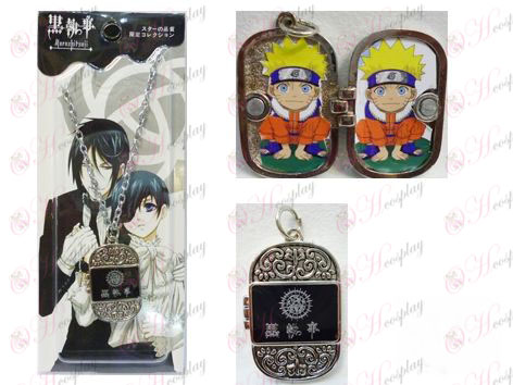 Black Butler Accessoires Photo Frame Series 0 mot collier