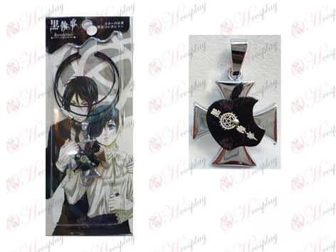 Black Butler Accessories Apple Series Compact Wire Necklace