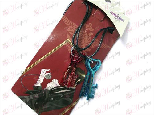 Black Butler Accessories Key Necklace