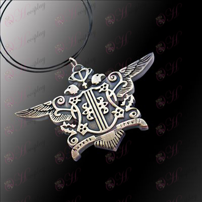 Black Butler Accessories-Eagle Necklace (Green ancient)