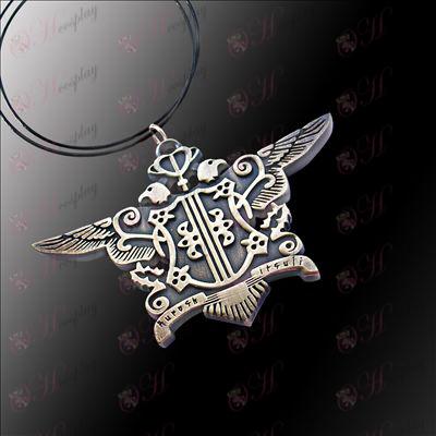 Black Butler Tilbehør-Eagle Necklace (Green gamle)