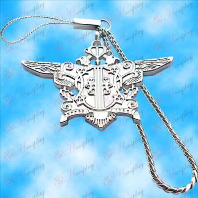 Black Butler Accessories-Eagle Machine Chain (White)