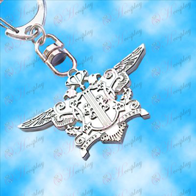 Black Butler Accessories-Eagle hanging buckle (white)