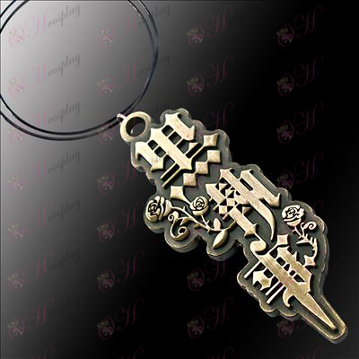 Black Butler Accessories Necklaces title