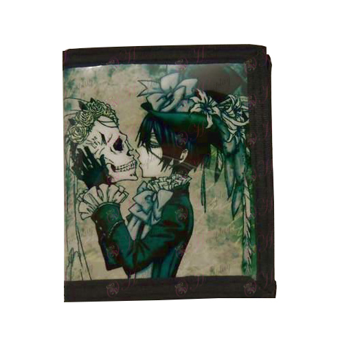 PVCBlack Butler Accessories Wallets (skull)