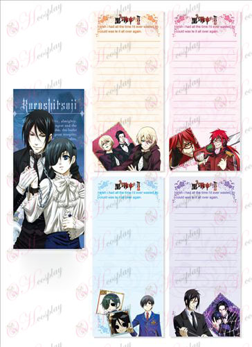 Black Butler Accessories Long Scratch Pad 020