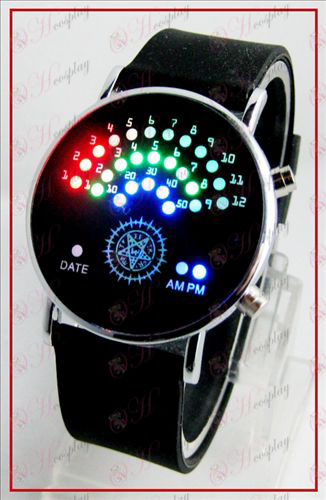 Colorful Korean fan LED watches - Black Butler Accessories