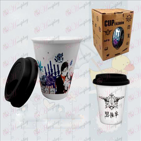 Double color ceramic cups (Black Butler Accessories)