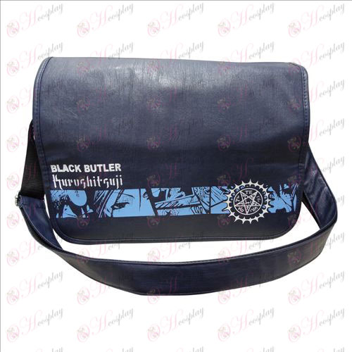 55-37 Messenger Bag Black Butler Accessori