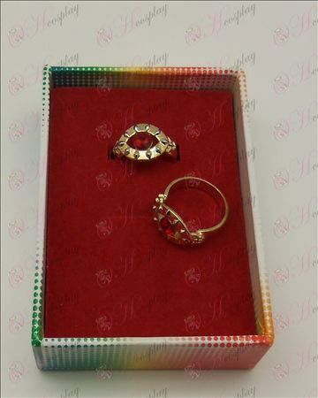 Black Butler Accessories ruby ring (a)