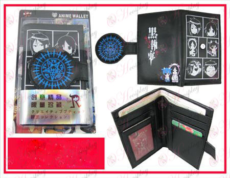 Personality wallet-Black Butler Accessories