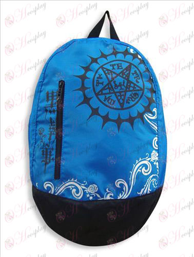 55-35 # 14 # Backpack Black Butler Accessorieslogo