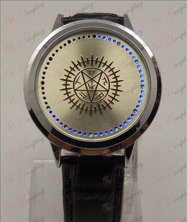 Avanceret Touch Screen LED Watch (Black Butler Tilbehør)