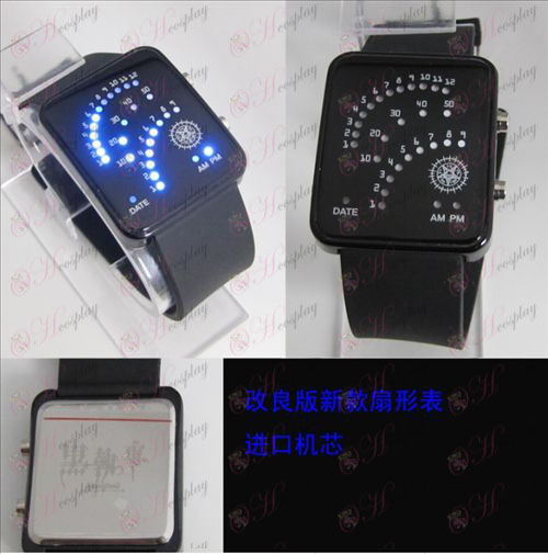 Black Butler Αξεσουάρ Τομέα LED ρολόι