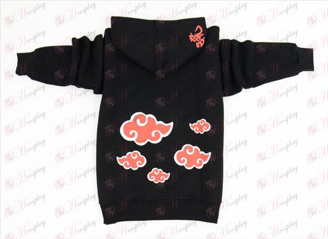 Naruto Red Cloud tyk trøje (M / XL)