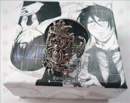 Black Butler Accessori Spider Anello