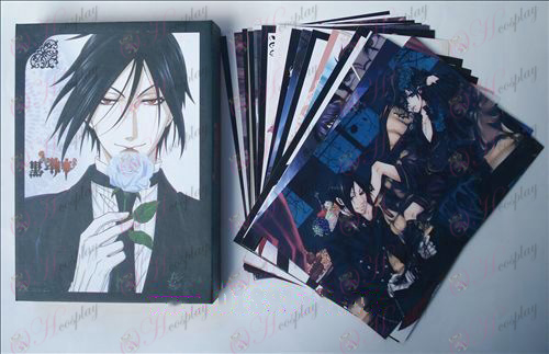 Black Butler Accessories Postcards + card 2