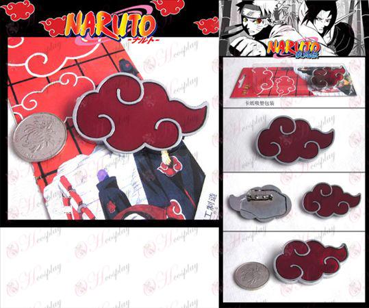 Naruto Red Cloud Brosche