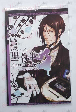 Black Butler Accessories Notebook