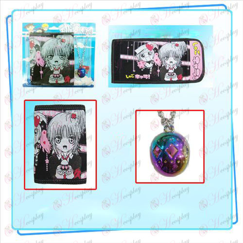 Shugo Chara! Accessories necklace fold wallet combo (necklace random distribution)