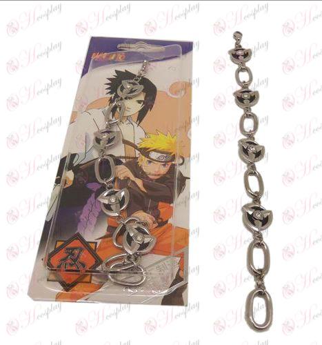 D Naruto écriture bracelet des yeux ronds (grand type O)