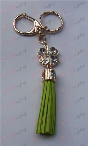 Shugo Chara! Accessoires White Diamond Keychain (Groen)