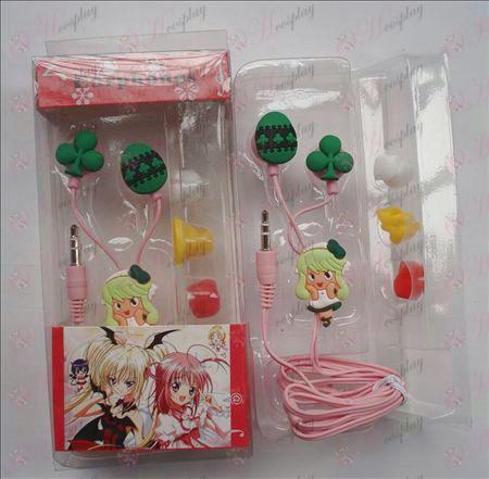 Shugo Chara! Pripomočki Slušalke (majhna žica)