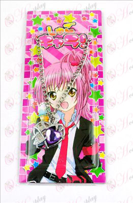 Shugo Chara! Accessories Heart Necklace (Purple)