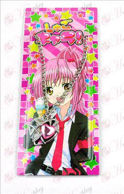 Shugo Chara! Dodatki Heart ogrlica (Pink)