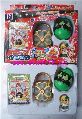 Shugo Chara! Accesorios solo paquete La caja de música (verde)