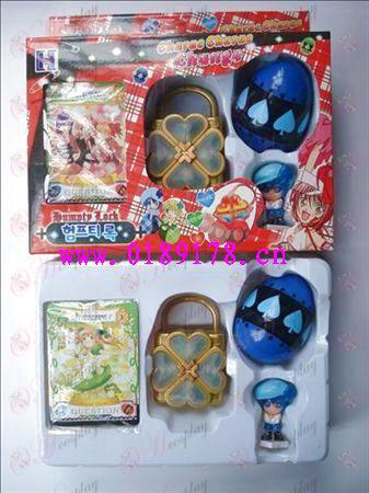 Shugo Chara! Accesorios solo paquete La caja de música (azul)
